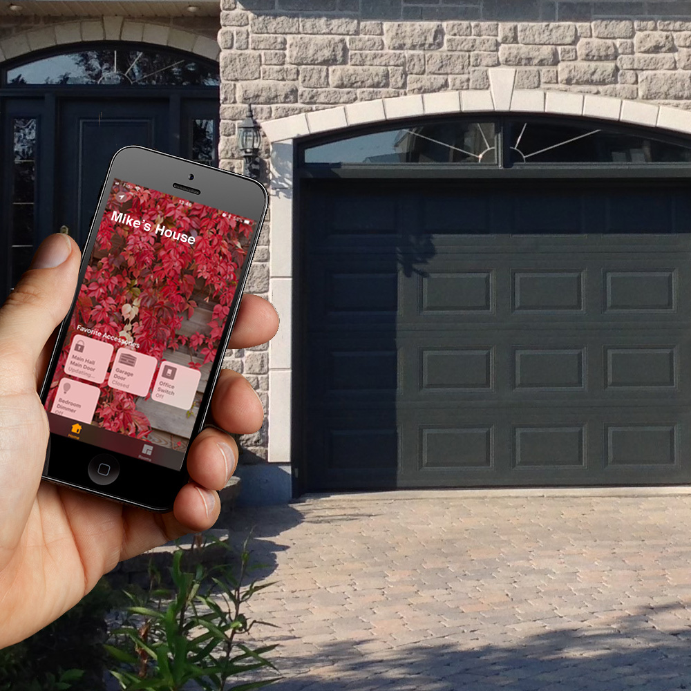 Opening the Garage with Smart Phone App